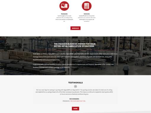 SigmaMRP Website